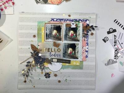"Scrapbooking Process #79- ""Hello Crazy Fun"" for Creative Scrappers"