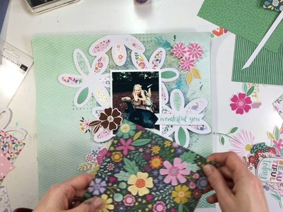 "Scrapbooking Process #82- ""Wild at Heart"" for Pink Paislee"