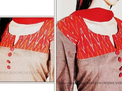 YOKE Kurta Making ( Cutting & Stitching )  |STEP BY STEP EASY WAY  DIY || AWW # 270||