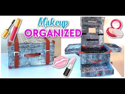 12 MINUTE CRAFT - AMAZING DIY CRAFT MAKEUP ORGANIZED   EASY DIY IDEAS