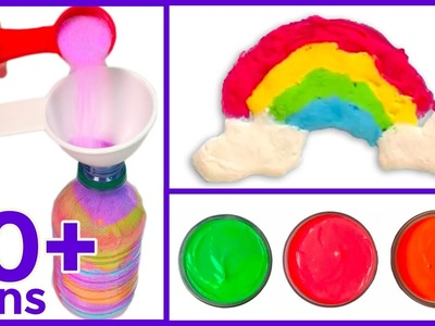 5 Quick and Easy Colorful Arty Crafts for Kids: Edible Paint, Watercolors and more!