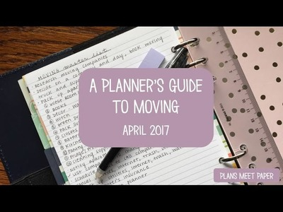 A Planner's Guide to Moving