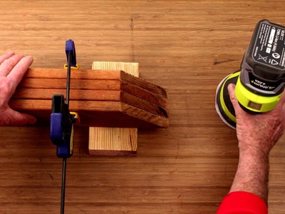 Clamp Timber Down To Save Time On Sanding - D.I.Y. At Bunnings
