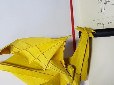 Design process : Origami Dragon 8.0 High Intermediate version