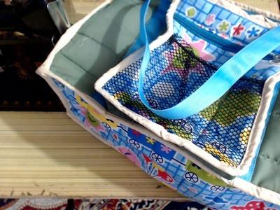DIY BABY DIAPER BAG PART 2