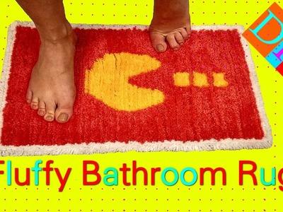 DIY Bathroom Carpet - How To Make Magic Bathroom Rug - Diy Yarn Carpet