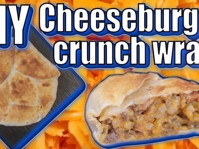 DIY Cheeseburger Crunch Wrap - Epic Recipes