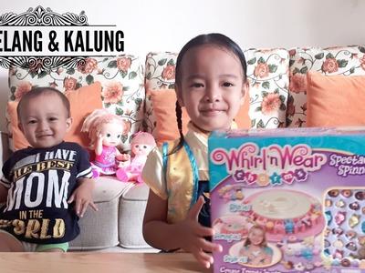 DIY Craft - Gelang, Kalung & Gantungan Kunci ???????????? How to Use Whirl n Wear Charms