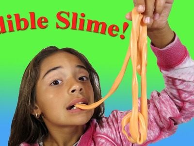 DIY EDIBLE SLIME! How To Make Ready To Eat Slime with Starburst Candy
