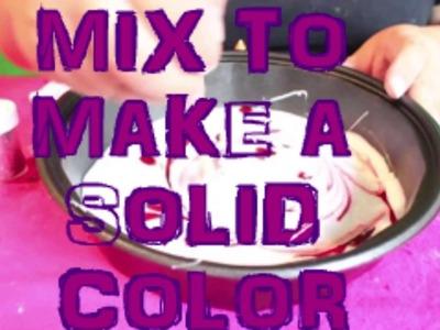 DIY Ez Bubble Gum Putty Slime (  No Borax)