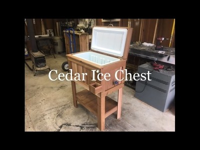 DIY | How to build a Cedar Ice Chest for your patio or deck | Repurposed Cedar Fence