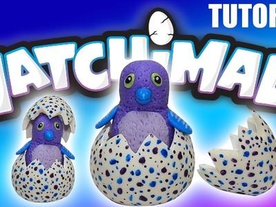 DIY Mini HATCHIMALS cold porcelain TUTORIAL * ¡¡Cómo hacer HATCHIMALS en MINIATURA!!