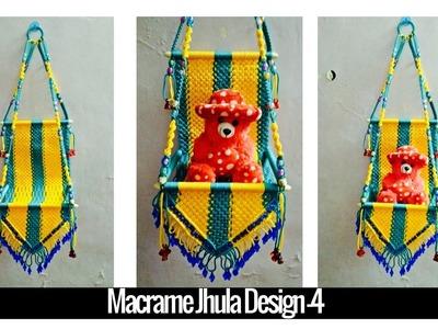 DIY simple tutorial of Macrame Jhula Design 4 | Macrame Art