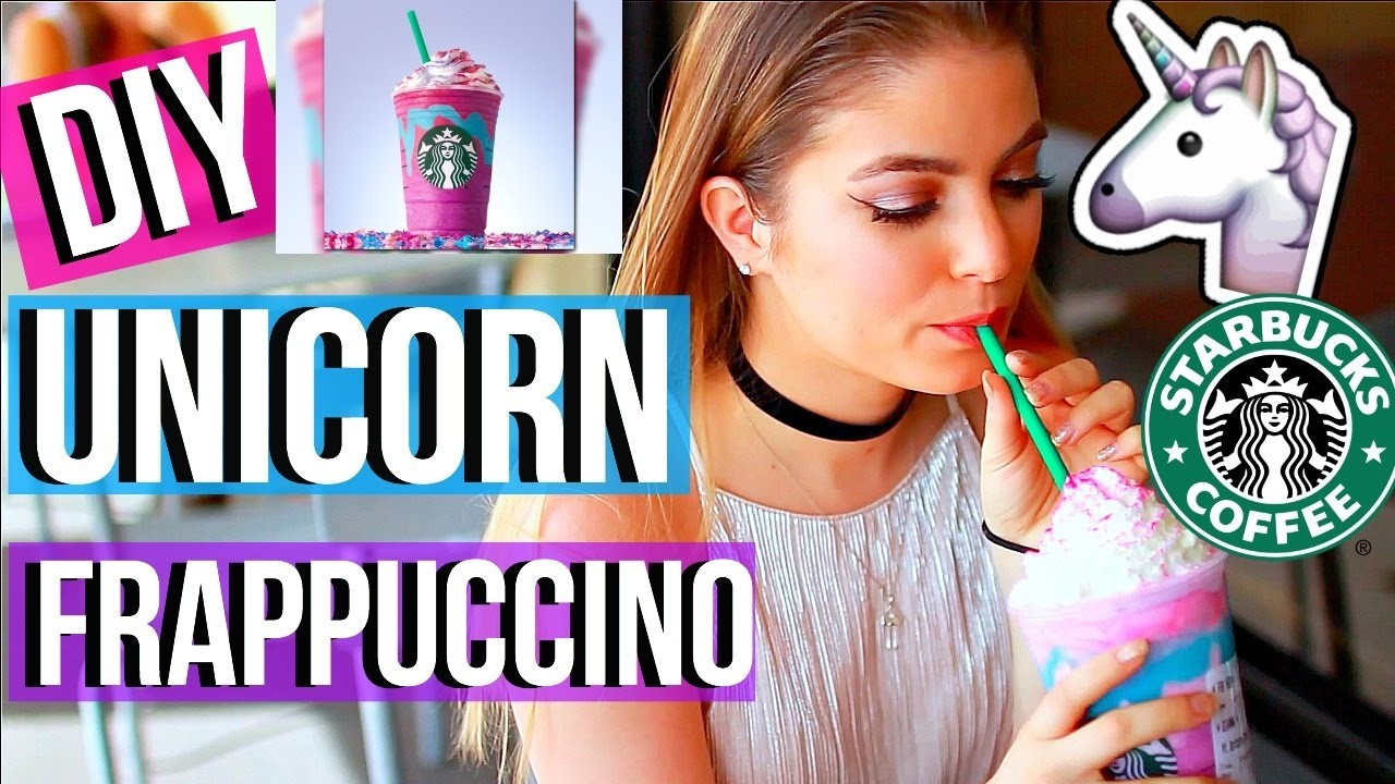 how to make homemade starbucks cotton candy frappuccino