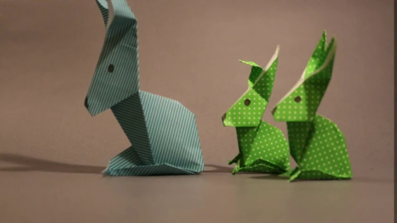how to make easter origami