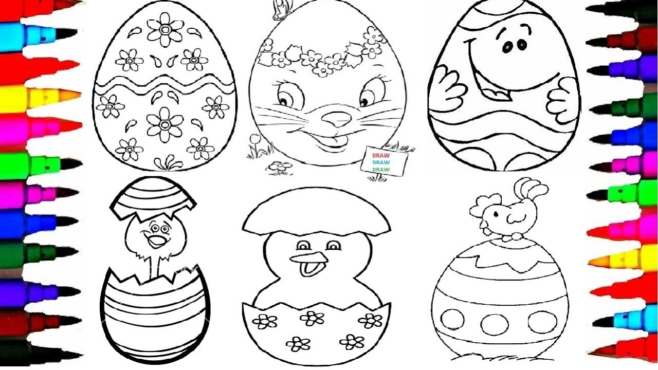 Easy Cute Things To Draw For Beginners Easter Eggs Fun Things To