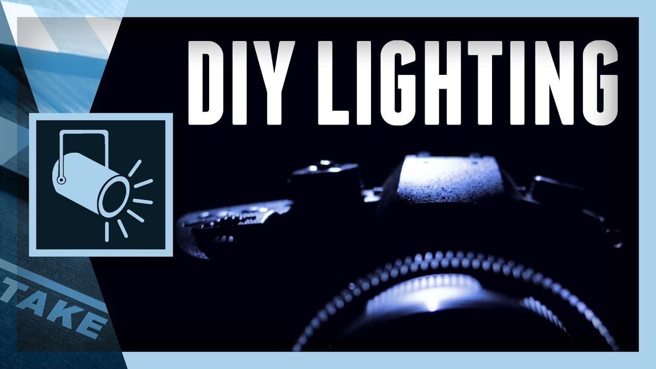 EPIC Product Reveal - DIY Lighting Tutorial | Cinecom.net