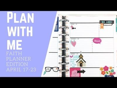 FAITH PLANNER-PLAN WITH ME- APRIL 17-23
