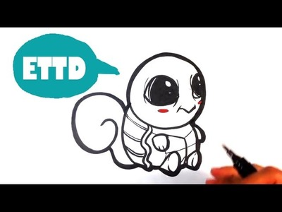 How to Draw Baby Squirtle from Pokemon - Easy Pictures to Draw
