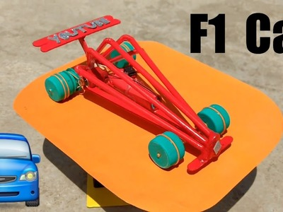 How to make a Simple Battery Operated F1 Car (DIY)