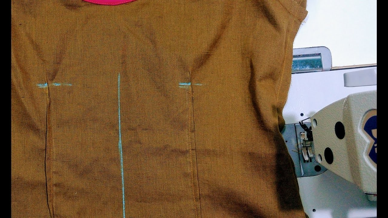 How to sew tuck on kurti top explained DIY Tutorial