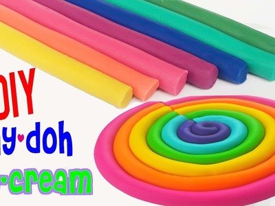 Learn Colors Play Doh Ice Cream Popsicles DIY Play Doh Compilation For kids