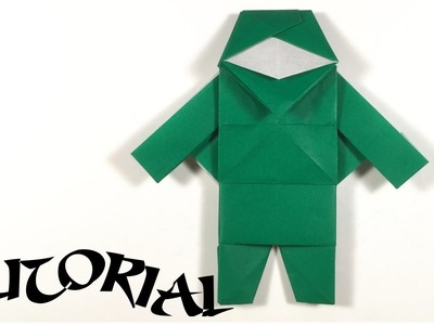 Origami Ninja Tutorial - Designed by Joseph Wu