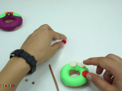 Play Doh Donuts Plastilina Doughnuts DIY