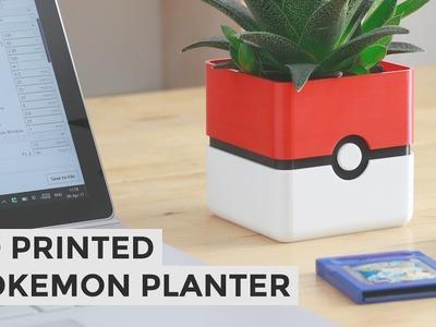 Pokemon Planter - DIY Pokeball Planter Tutorial - How To
