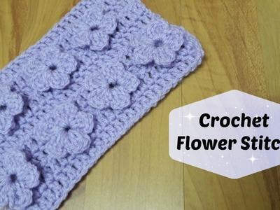REDO: How to crochet flower stitch? | !Crochet!
