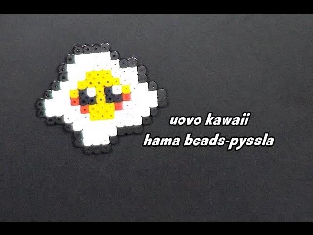Uovo kawaii hama beads-pyssla ||kamipucca||