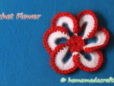 [1] How to Crochet Flower । Crochet Flower Pattern - By Arti Singh