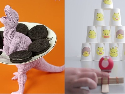 13 DIY Projects That Will Blow Your Kids' Minds - DIY Kids Crafts and Games 2017