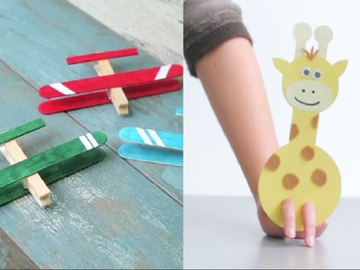 14 DIY Projects That Will Blow Your Kids' Minds - DIY Kids Crafts and Games 2017 Part #2