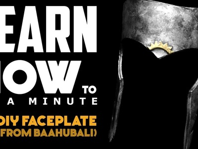 Baahubali Faceplate: Learn How To In A Minute