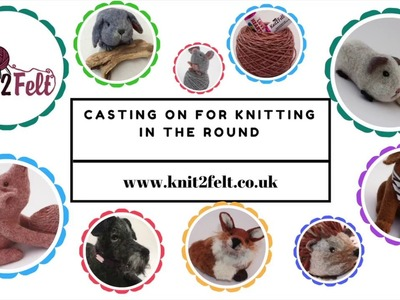Casting On Stitches For Knitting In The Round : Knitting, How to M1R (make one right) and M1L (make one left) Left Handed, En...
