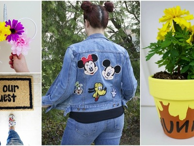 CHEAP & EASY DISNEY DIY CRAFTS #7 | PINTEREST INSPIRED