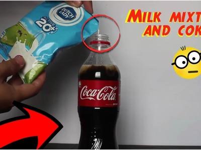 COCACOLA vs Milk, Look how the lCOKE!