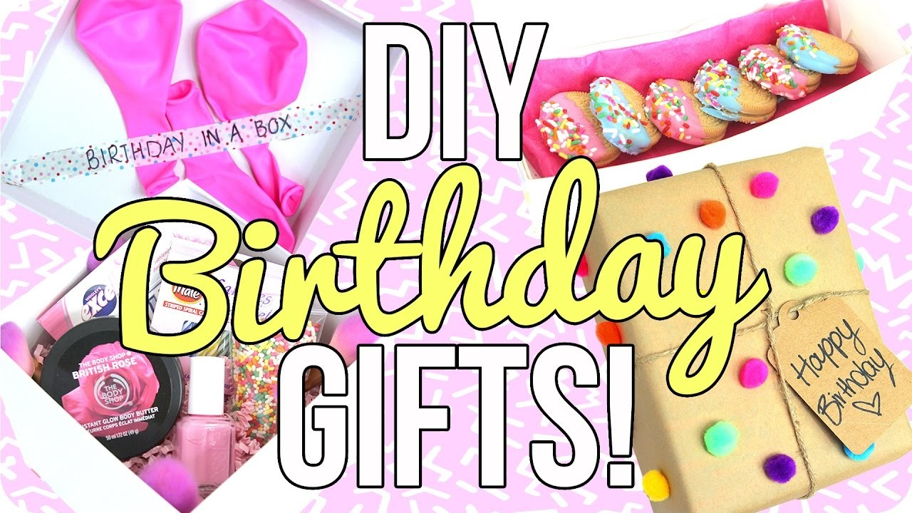 Diy birthday gifts easy cheap for Easy diy birthday gifts