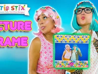DIY CUTE and Easy to Make Frame!! | How To Wow Show | Official Cutie Stix