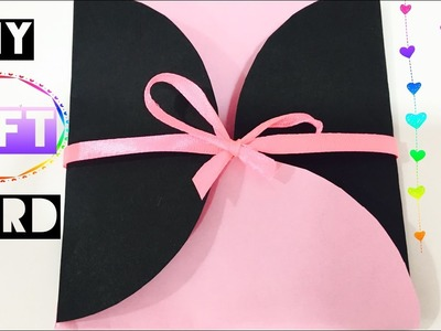 DIY GIFT CARD I EASY HANDMADE BIRTHDAY CARD I The Quirk & Chirpy