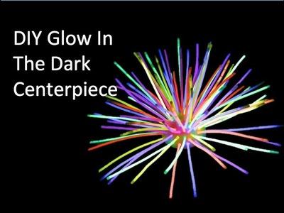 DIY Glow In The Dark Center Piece