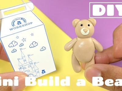 DIY Miniature Build a Bear Doll - Dollhouse Crafts