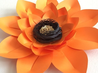 DIY Paper Flower for backdrops or party decor, Giant paper flower, Fleurs de papel