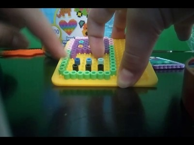 DIY perler beads American girl doll phone.