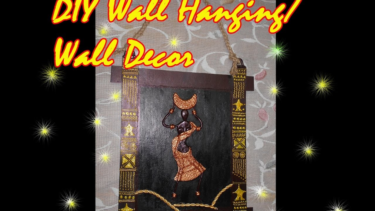 DIY Wall hanging.wall decor  How to make wall hanging by using Shilpkar SimplyEasy
