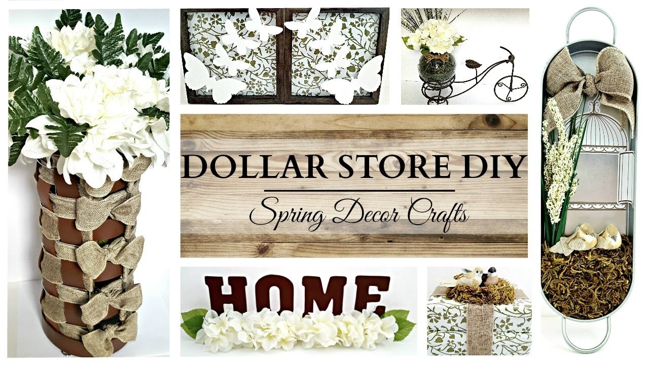 Dollar Store Diys Earth Tone Spring Home Decor Crafts My Crafts And Diy Projects