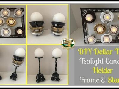 Dollar Tree DIY Candle Holder | Bathroom Decor