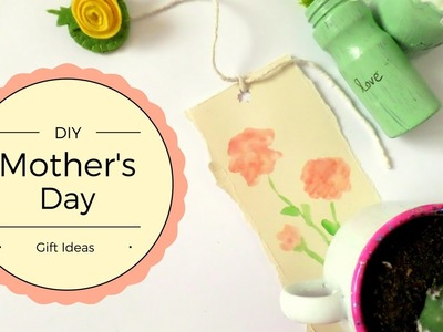 Easy Mother's Day Gift Ideas DIY inexpensive  | Flower Themed Crafts and Gifts| by Fluffy Hedgehog