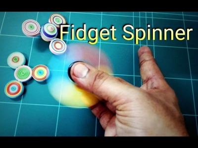 Fidget Spinner. How to make a quilling fidget spinner